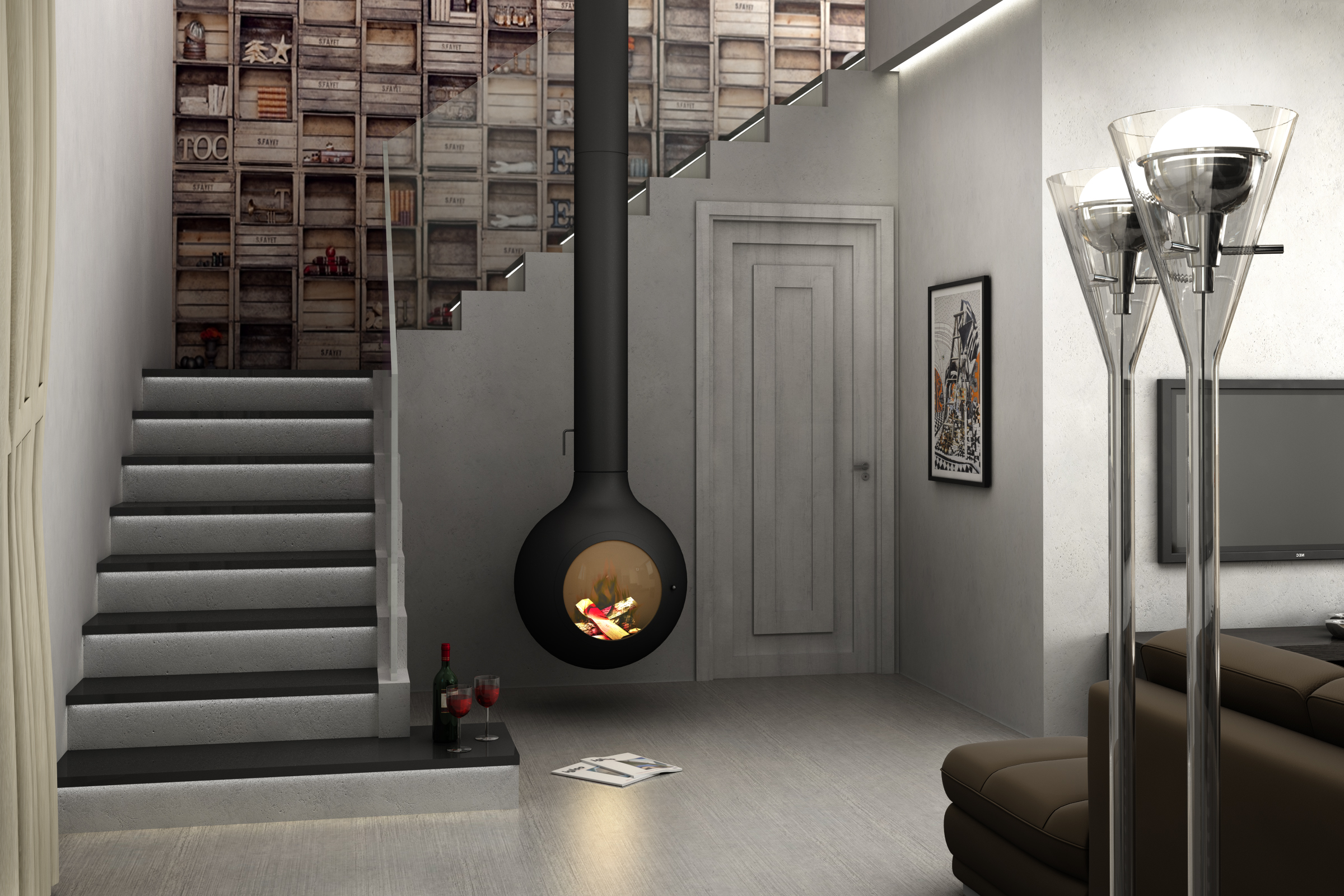 Master interior design accademia cappiello for Corsi arredamento d interni